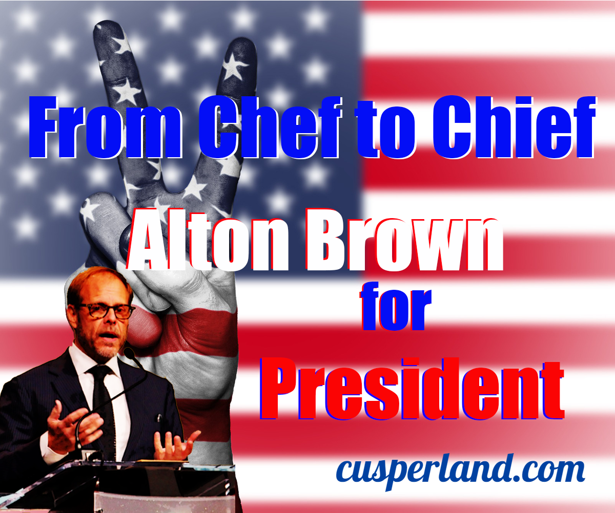 President Alton Brown